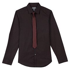 Boys 8-20 Van Heusen Star Shirt & Tie Set
