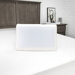 Sensorpedic Luxury Cooling Gel Overlay Memory Foam Bed Pillow