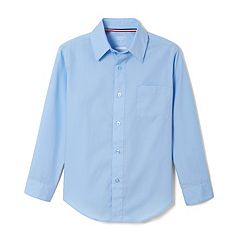 Boys 4-20 & Husky French Toast Long Sleeve Button-Down Dress Shirt