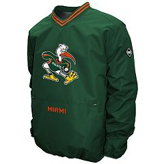 Men's Franchise Club Miami Hurricanes Postgame Pullover