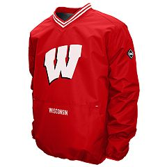 Men's Franchise Club Wisconsin Badgers Postgame Pullover