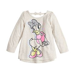 Disney's Daisy Duck Baby Girl Glittery Graphic Top by Jumping Beans®
