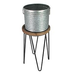 SONOMA Goods for Life™ Indoor / Outdoor Galvanized Bucket Plant Stand