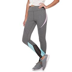 Juniors' SO® Mesh Spliced Yoga Leggings