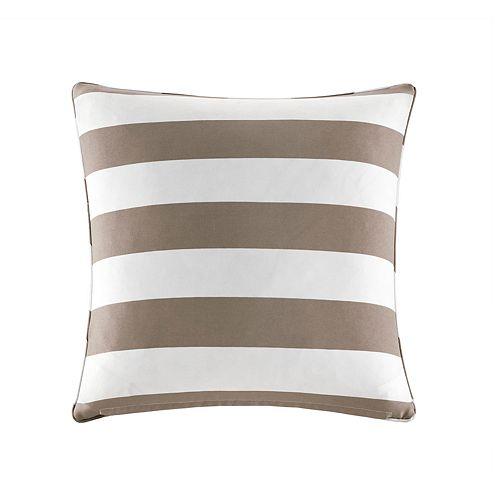 Madison Park Baros Outdoor Striped Throw Pillow