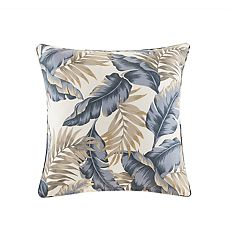 Madison Park Outdoor Palm Print Throw Pillow