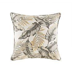 Madison Park Outdoor Palm Print Throw Pillow