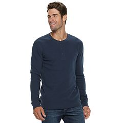 Men's SONOMA Goods for Life™ Slim-Fit Supersoft Thermal Henley
