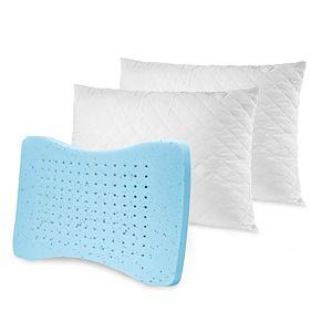 Sensorpedic 2-pack MemoryLOFT Deluxe Quilted Gel Pillow