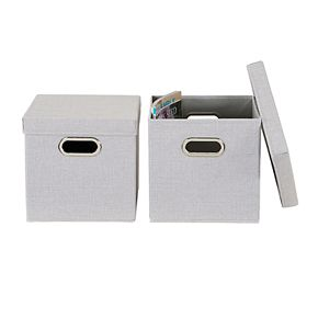 Household Essentials 2-pack Linen Box Set
