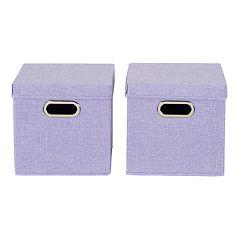 Household Essentials 2-pack Linen Box Set