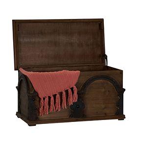 Household Essentials Wooden Arch Storage Trunk