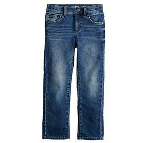 Boys 4-12 SONOMA Goods for Life? Straight Comfort Knit Jeans in Regular, Slim & Husky