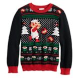 Boys 4-8 Jumping Beans® Super Mario Bros. Knit Holiday Sweater