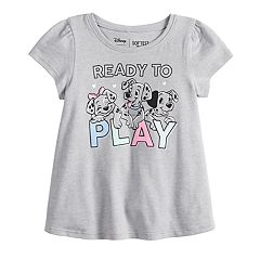 Disney's 101 Dalmatians Baby Girl 'Ready To Play' Graphic Tee by Jumping Beans®