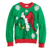 Boys 4-8 Jumping Beans® Dr. Seuss The Grinch Knit Holiday Sweater