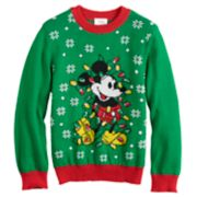 Disney's Mickey Mouse Boys 4-8 Jumping Beans® Knit Holiday Sweater