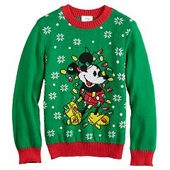 d8d03c18f384 Disney's Mickey Mouse Boys 4-8 Jumping Beans® Knit Holiday Sweater