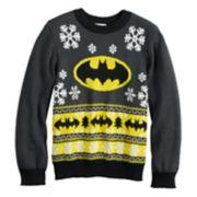 Boys 4-8 Jumping Beans® DC Comics Batman Knit Holiday Sweater