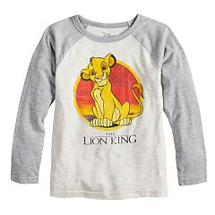 Disney's The Lion King Boys 4-12 Simba Sunset Raglan Graphic Tee by Jumping Beans®