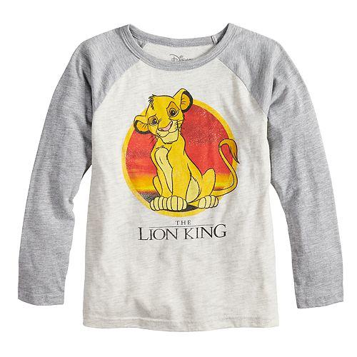 Disney's The Lion King Boys 4-12 Simba Sunset Raglan Graphic Tee by Jumping Beans®