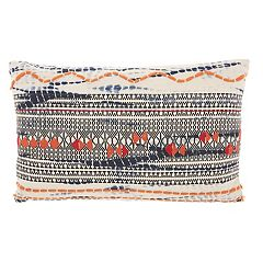 Studio NYC Collection Tie-Dye Geometric Throw Pillow by Mina Victory