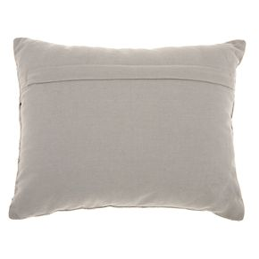 Studio NYC Collection Beaded Coral Velvet Throw Pillow by Mina Victory