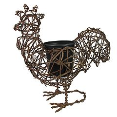 SONOMA Goods for Life™ Indoor / Outdoor Rustic Rooster Planter