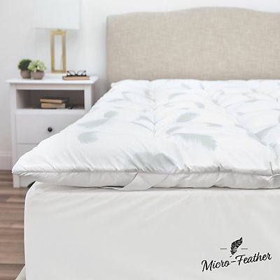 SensorPEDIC Quilted Memory Foam & Micro Feather Mattress Topper