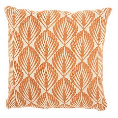 Studio NYC Collection Leaves Throw Pillow by Mina Victory