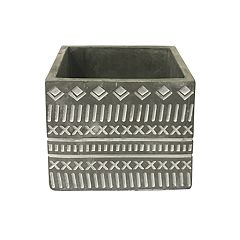 SONOMA Goods for Life™ Indoor / Outdoor Square Cement Planter