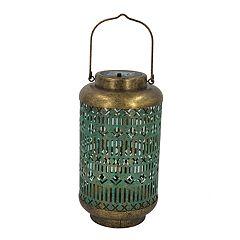 SONOMA Goods for Life™ Large Solar Light-Up Boho Lantern Table Decor