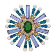 Dana Buchman Simulated Crystal Starburst Pin