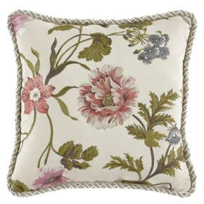 Croscill Daphne Square Throw Pillow