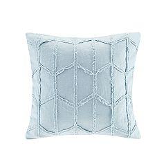 HH Frayed Linen Throw Pillow