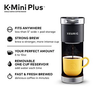 Keurig® K-Mini Plus® Single-Serve K-Cup Pod® Coffee Maker