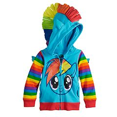 Toddler Girl My Little Pony Rainbow Dash Hoodie