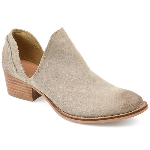0761d758fc97 Journee Signature Jonesy Women s Cutout Ankle Boots