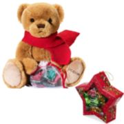 Godiva Holiday 2018 Limited Edition Plush Bear & Star Ornament
