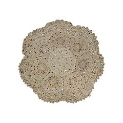 Couristan Round Floral Doormat - 48' x 48'