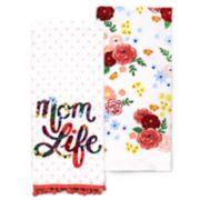 Celebrate Spring Together Mom Kitchen Towel 2-pack