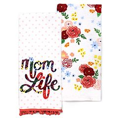 Celebrate Spring Together Mom Kitchen Towel 2-pack
