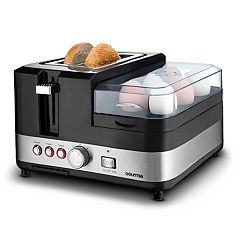 Gourmia 3-in-1 Breakfast Station Center