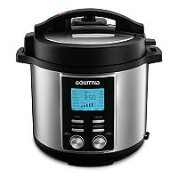 Gourmia 6-qt. Smart Pot Pressure Cooker (Stainless Steel)