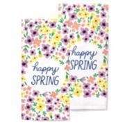 Celebrate Spring Together Happy Spring Kitchen Towel 2-pack