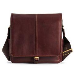 AmeriLeather Legacy Leather Teddy Shoulder Bag