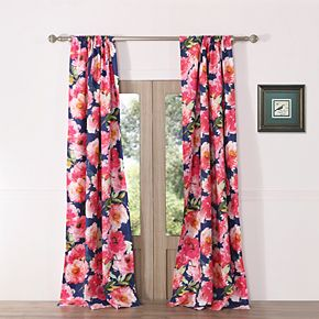 Peony Posy 2-pack Window Curtains
