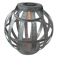 SONOMA Goods for Life™ Large Solar Light-Up Galvanized Lantern Table Decor