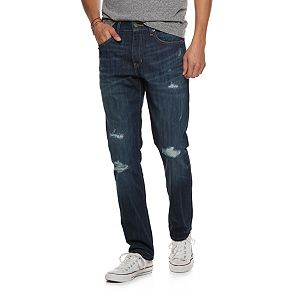 Men's Urban Pipeline? Slim-Fit Destructed Jeans
