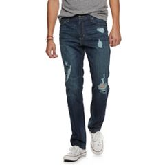 Men's Urban Pipeline® Straight-Leg Destructed Jeans
